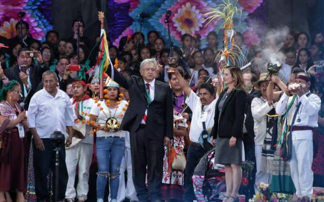 Día histórico para México  Sigue  EnVivo la toma de protesta de AMLO ... d1aecdcebca31