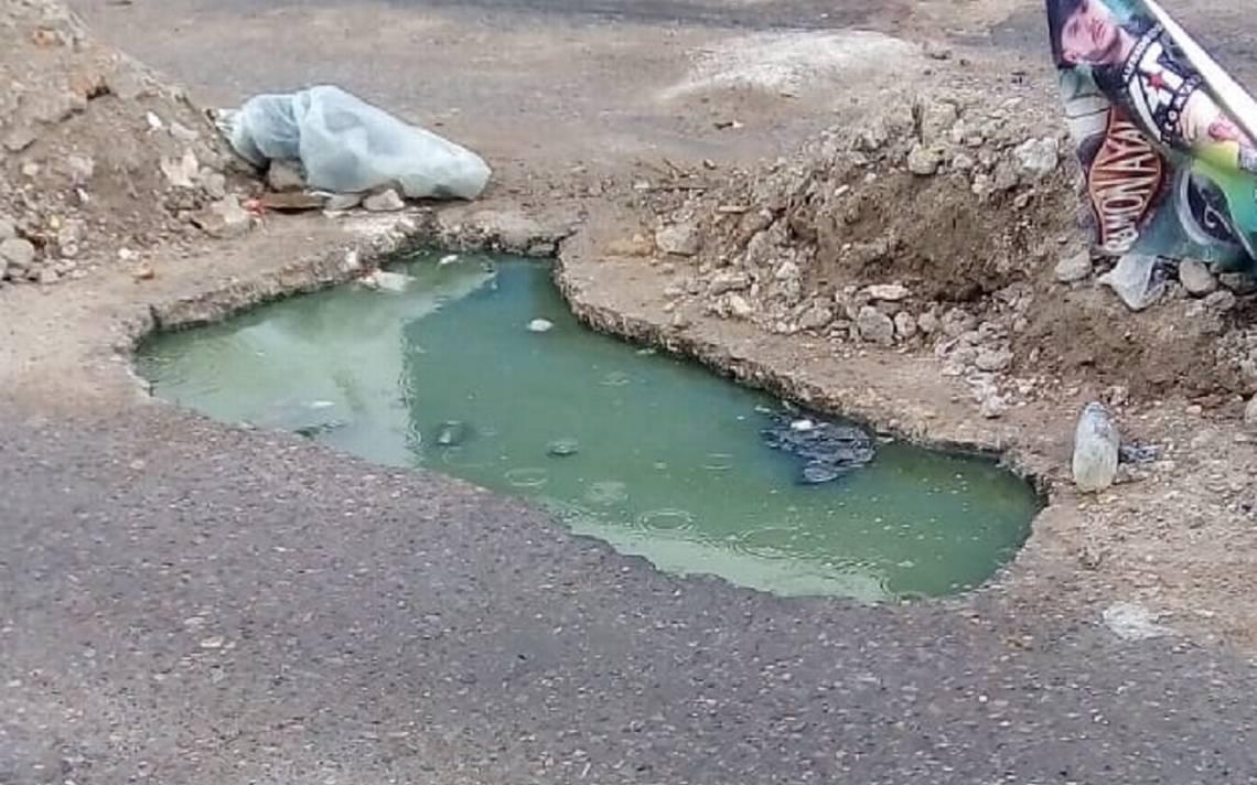 Aguas pestilentes enferman a vecinos de San Juan de Guadalupe - El Sol de San Luis