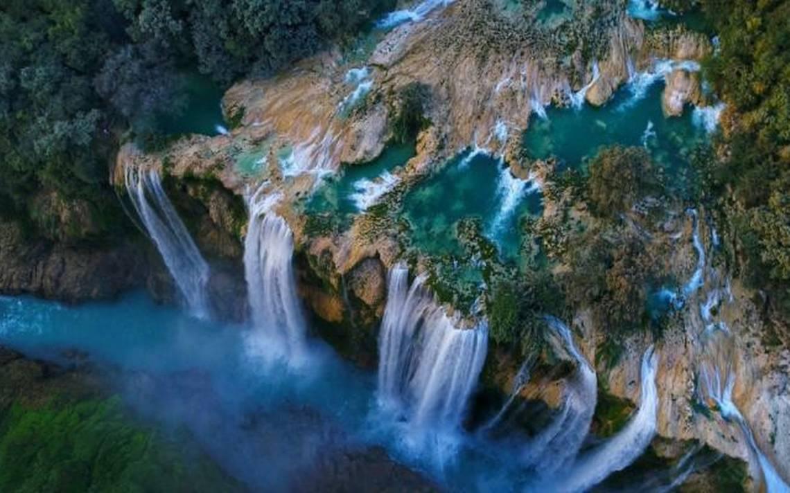 Resultado de imagen para cascada de tamul San Luis Potosí Cascada Huasteca Potosina