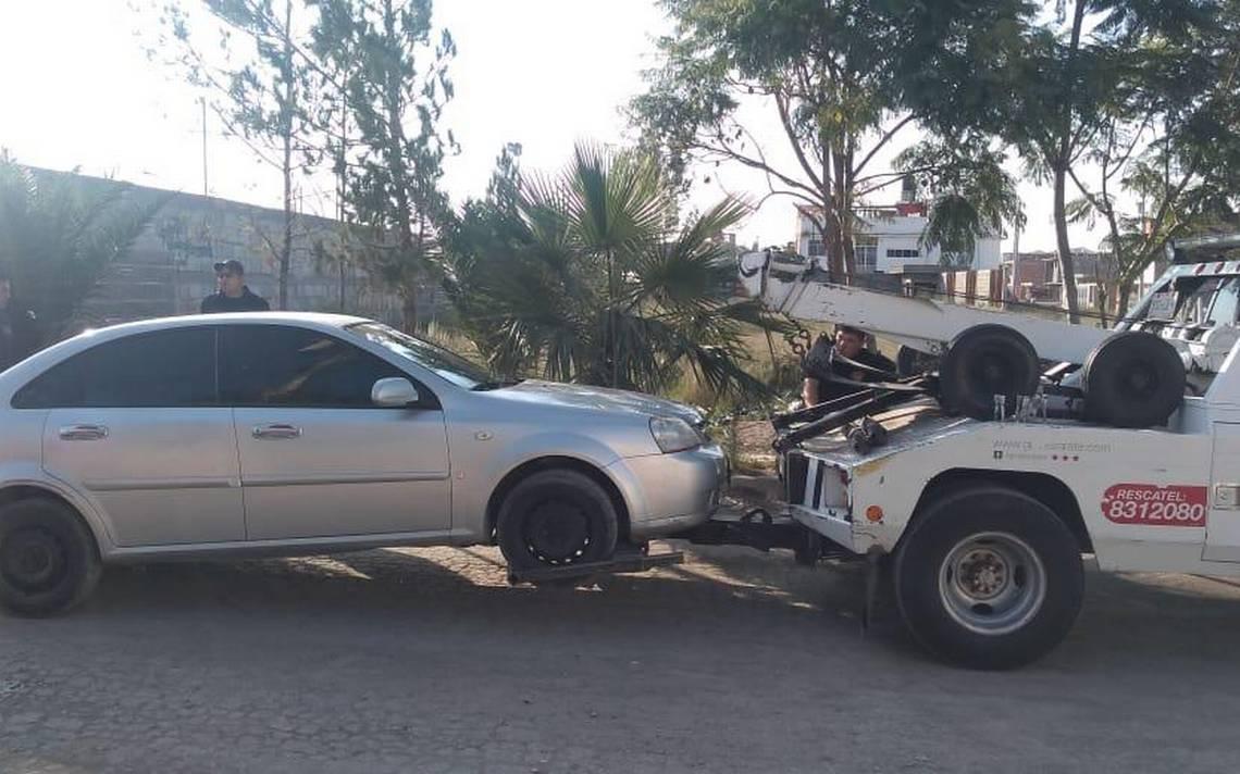 Localizan vehículo robado en Villas de San Francisco - El Sol de San Luis