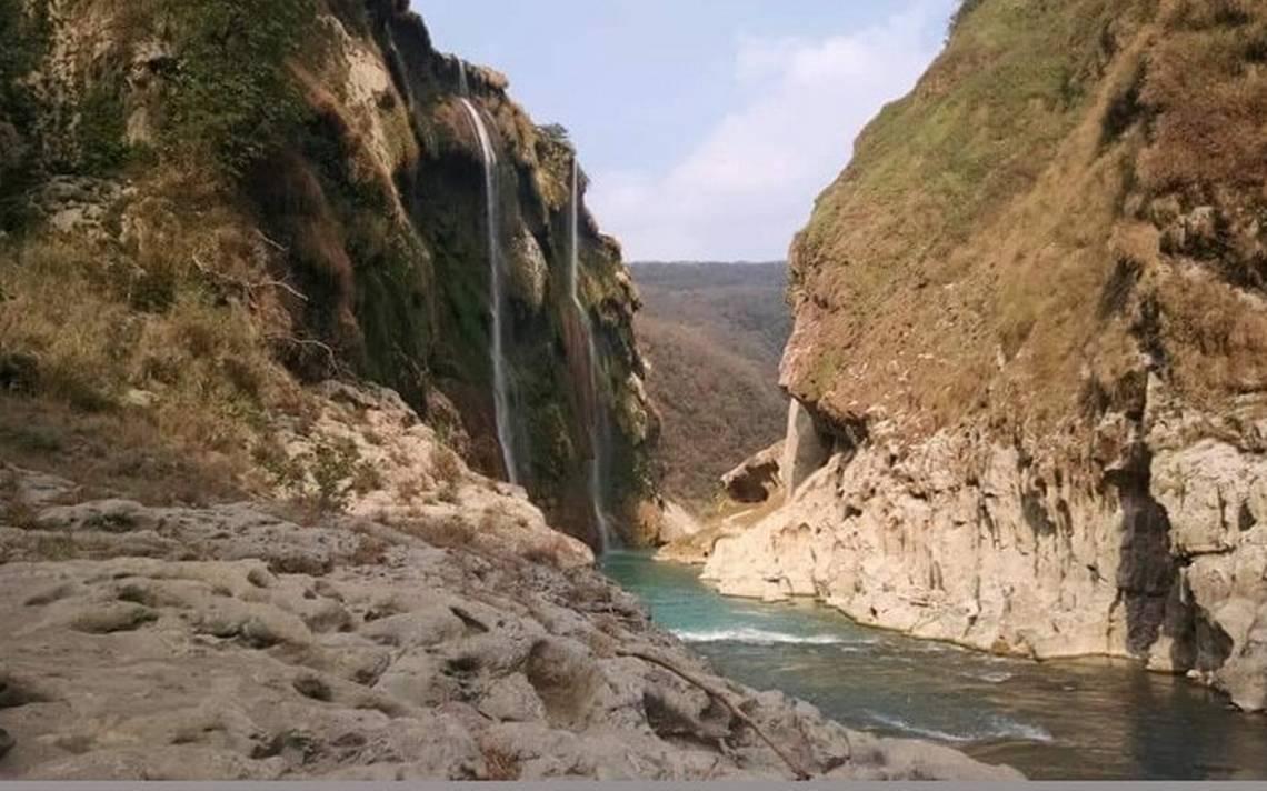 Cascada De Tamul Sin Agua El Sol De San Luis
