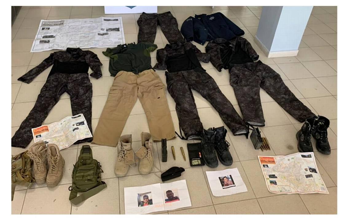 Aseguran Equipo Tactico Policial En Un Inmueble De Valles El Sol De San Luis Noticias Locales Policiacas Sobre Mexico San Luis Potosi Y El Mundo
