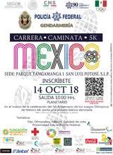Realizarán carrera-caminata 5k con motivo de los JO México